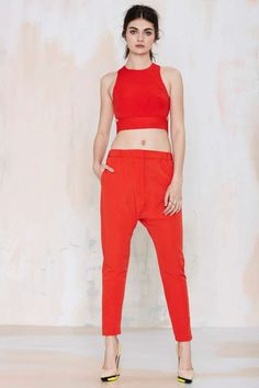 Cameo West Coast Trouser - Red - Pants | Cameo | Newly Added |  | Pants