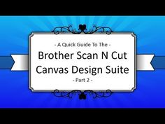 Scan It Saturday – Converting Different File Types In Brother Scan N Cut Canvas « Gentleman Crafter