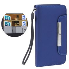 iPhone 5 wallet flip case / hoesje, blauw / blue Iphone 5 Cases, Iphone 5s, Saddle Bags, Ipod, Samsung Galaxy, Wallet, Womens Fashion, Blue, Accessories