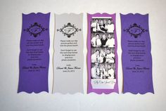 Photo Booth Frame Card Strip Wedding Party Favor by MySweetDay, $170.00