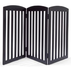 grandinroad black dog gate