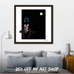 Discover «Dark as the night», Limited Edition Fine Art Print by Tshireletso Moloi - From $39 - Curioos