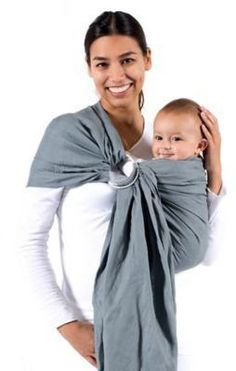 f2c7b558c9e Beco Ring Sling Baby Carrier in Cloud  affiliate link
