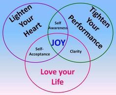 life coach model - I will be changing some words in this Venn diagram, to make it powerfully reflect what renewing the mind in the Gospel can do...