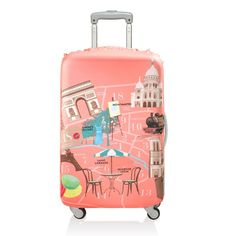 Bring bliss to the baggage claim.You'll earn miles & miles of smiles with a LOQI suitcase cover. Discover the LOQI Luggage covers Collection. Luggage Cover, Travel Luggage, Travel Bags, Luggage Sets, Travel Ideas, Luggage Trolley, Trolley Case, Saint Germain, Animal Bag