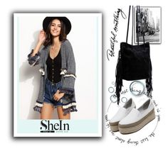 """""""SheIn 8/2"""" by melissa995 ❤ liked on Polyvore featuring WithChic"""