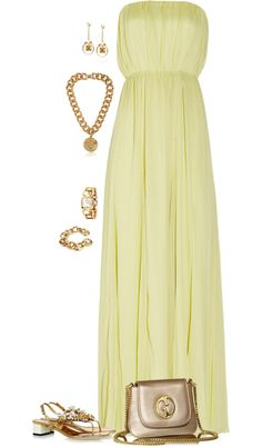"""""""Something soft and elegant - she wore flats!"""" by riquee ❤ liked on Polyvore"""