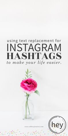 text replacement Ins