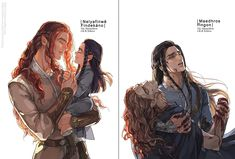 Nelyafinwë and Findekáno/Maedhros and Fingon