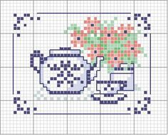 Tea time.  I made this too. Check out my work.