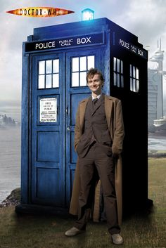 dr who telephone booth | Doctor and Phone Booth | Our lives are tangled