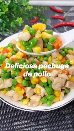 Boiled Food, Salty Foods, Cooking Recipes, Healthy Recipes, Sin Gluten, Food Design, Love Food, Chicken Recipes, Easy Meals