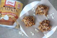 Spiced Pumpkin & Oatmeal No-Bake Cookies