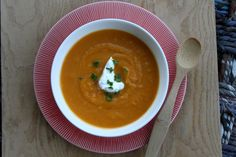 butternut squash soup...oven to crockpot