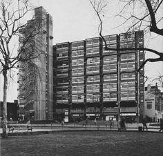 Eros House, Catford, London, UK, 1963 (Owen Luder Partnership)