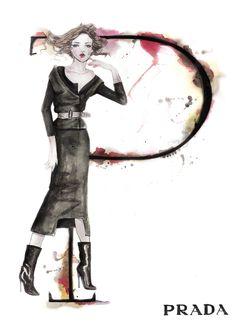 The A-Z of Fashion by Natalia Jheté - Prada