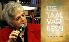 Video: Heilna du Plooy se roman Die taal van been word bekendgestel Roman, Words, Cover, Blanket