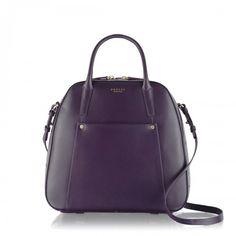 Radley London Highbury Barn Domed Grab Bag Purple