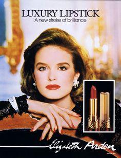 Elizabeth Arden ad 1988 feat Jacki Adams
