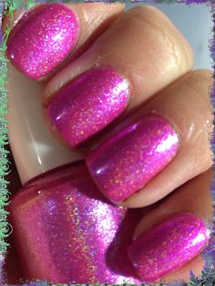 Pink Sugar from the Crazy for Colour collection by LilypadLacquer, $11.00