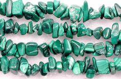 Malachite Chip Beads by Darn Good Yarn | The Best Yarn Store!
