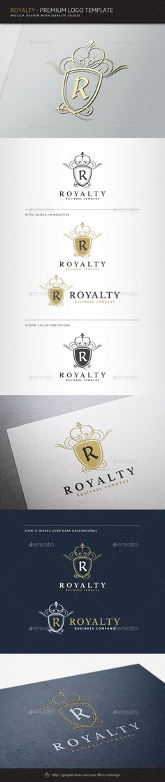 Royalty Logo Template Transparent PNG, Vector EPS, AI Illustrator. Download here: https://graphicriver.net/item/royalty-logo/1574491?ref=ksioks