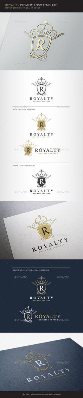 Royalty Logo Template Transparent PNG, Vector EPS, AI Illustrator. Download here: https://graphicriver.net/item/royalty-logo/1574491?ref=ksioks