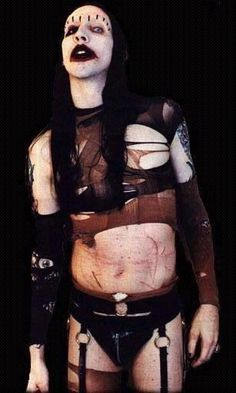 Manson, 1995.  one of my long time style icons <3
