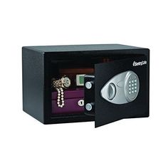 Safe Security Fire Protection 0.5 Cubic Feet Personal Home Electronic Lock Black #SentrySafe