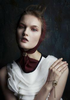 Vogue Japan January 2015 | Kirsi Pyrhonen by Daniele Duella  [Editorial]