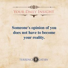 Your Daily Insight - http://www.terrencegatsby.com/blog/your-daily-insight/cr-012/