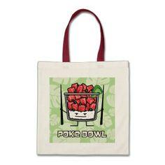 034a13a633e Poke bowl Hawaii raw fish salad chopsticks aku Tote Bag - diy cyo customize  create your
