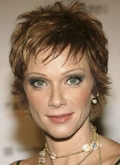 Lauren Holly in a Short Pixie Haircut for Women