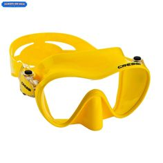 Masks 71161 Cressi F1 Scuba Diving Snorkel Swimming Frameless Mask Yellow Top Quality Buy It Now Only 34 15 On Ebay Diving Scuba Diving Scuba Diving Gear