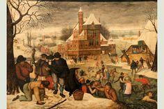 Patinage, Brueghel Le Jeune