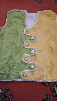 Baby Knitting Patterns, Knitting Designs, Crochet Baby, Knit Crochet, Baby Vest, Cross Stitch Baby, Wrist Warmers, Moda Emo, Yarn Projects