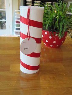 Cute way to gift cookies. :-)