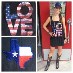 Love our new #redwhitenblue tanks  tee's for the 4th! Come pick one up!  Southern Thread Austin, TX.