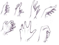 hand drawing reference | Anime Hand Drawing Reference Hand reference by alsei Human Drawing Reference, Hand Reference, Anatomy Reference, Drawing Tips, Character Drawing, Online Images, How To Draw Hands, Drawings, Anime