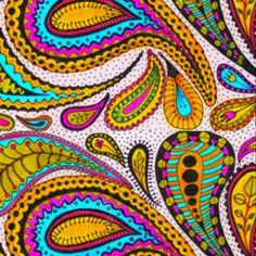 I love paisley patterns