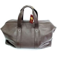 Quindici Leather Soft Holdall Brown *Special Purchase* QNL 112