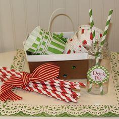 $10.96 Set of 6 Paper Lunch Basket / 1.5 Quart Cardboard Berry Box