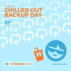 Have a chilled out backup day! Check out our FUTURAMO ICONS – a perfect tool for designers & developers on futuramo.com