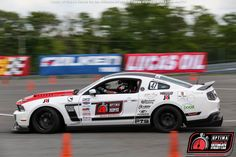 David Tyo's 2012 Ford Mustang will compete in the 2016 #OUSCI Learn more at www.optimainvitational.com