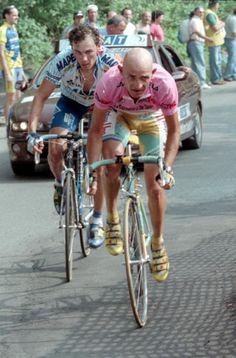 Marco Pantani y Pavel Tonkov - Giro de Italia 1998