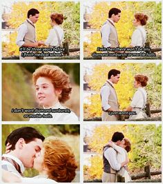 "Anne of Green Gables: ""I don't want diamond sunbursts or marble halls."" (gif)"