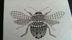 Zentangles Bees