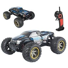 GP TOYS S911 High Speed Race Car 1/12 45km/h 2WD 2.4GHz RC Remote Control Truck /Buggy Shaft Drive Off-road Vehicle Toy Radio Controlled Rock Crawler (Blue) - http://quadcopter-drones.co.uk/product/gp-toys-s911-high-speed-race-car-1-12-45km-h-2wd-2-4ghz-rc-remote-control-truck-buggy-shaft-drive-off-road-vehicle-toy-radio-controlled-rock-crawler-blue/ #rcdrones