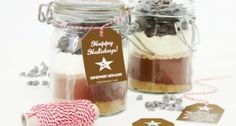 Hot Cocoa Mix Gift in a Jar