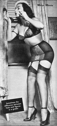 From Flirt magazine, December 1954.